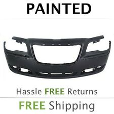 NEW 2011 2012 2013 2014 Chrysler 300 w/oPrk asist Front Bumper Painted CH1000A00