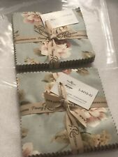 """New listing 2 Penelope by Penny Rose Fabrics 5 x 5"""" Squares Charm Pack New"""