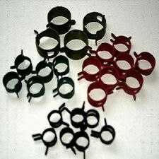Fuel Line Spring Hose Clamps (50 Clamps) Assorted Sizes COMBOCT-050