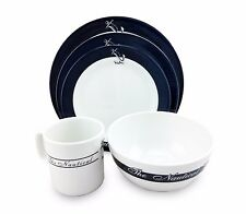 New 20pc Galleyware/Boat Dishes Melamine Bowl/Cup/Plate, Nautical Collection