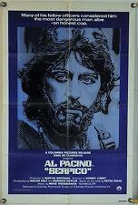 SERPICO FF INTL ORIG 1SH MOVIE POSTER AL PACINO SIDNEY LUMET RR80 (1973)
