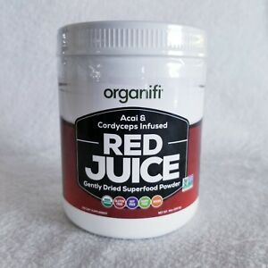 Organifi Red Juice Superfood Acai Cardyceps Infused dietary supplement Powder
