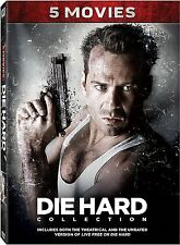 Die Hard: Complete Bruce Willis Movie Series 1 2 3 4 5 Collection Boxed DVD Set