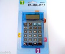 Calculatrice de bureau/de poche SIA bleu - Calculator for pocket & desktop, blue