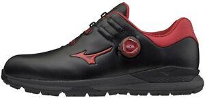 Mizuno golf shoes GENEM 001 Boa 51GM2000 Black / red