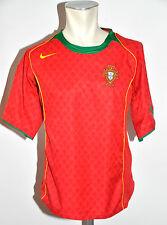 2004-06 Portugal Trikot Gr. MNike Nationalmannschaft F.P.F Jersey WM EM