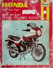 CBX 550 FOUR OWNERS WORKSHOP MANUAL 1982 TO 1984, NO940  by haynes