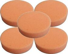 Lake Country H2O2212-5 Hydro-Tech Tangerine Foam Polishing Pad - 2 inch  5 Pack