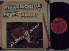 EDOARDO LUCCHINA GIGI STOK  disco LP 33 giri FISARMONICA PRIMO AMOR 1984 K-TEL