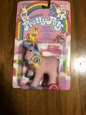 Vintage 1984 New Still Sealed Remco Rainbow Pretty Pets Happy Unicorn Figure