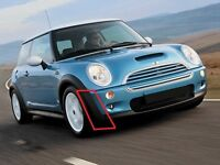 MINI NEW COOPER R50 (01-04/07) FRONT BUMPER OUTER PLASTIC TRIM RIGHT O/S