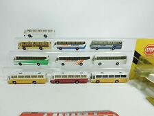 BD430-2# 10x Efsi Toys H0/1:87 Bus: Volvo+DAF+Mercedes-Benz/MB etc, OVP