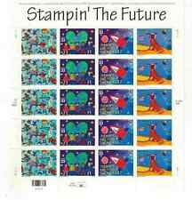 Scott #3414/17. 33 Cent.Stampin' The Future. Sheet of 20