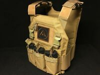 Low Profile Plate Carrier Plattenträger Molle Coyote abnehmbare Front Tactical