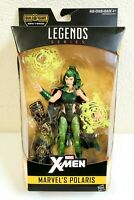 "Marvel Legends Series X-Men Polaris 6"" Action Figure Warlock BAF Hasbro 2016"