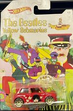 2016 Hotwheels Beatles Yellow Submarine Series Morris Mini George Harrison # 4/6