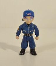 "RARE 2003 Police Trunks 3"" Jakks Action Figure Dragon Ball Z Origins GT"