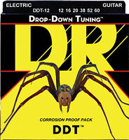 DR Strings DDT-12 Drop Down Tuning Electric Guitar Strings 12-60
