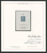 NIEDERLANDE Nr. 1 OFFICIAL REPRINT UPU CONGRESS 1984 MEMBERS ONLY!! RARE!! z1618