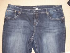 MAURICES WOMENS JEANS, CURVY, 24R