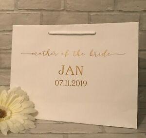 Personalised Bridal Party Gift Bag, Bridesmaid Gift Bag, Wedding Gift Bag