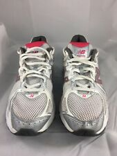 e6bf291acdd2 New Balance 470 Women's Size 8.5 Silver White Burgundy Gym Running Shoes EU  40