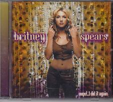 BRITNEY SPEARS - OOPS! ... I DID IT AGAIN - CD NEW