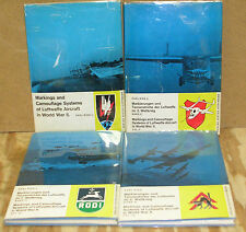 Markings & Camouflage Systems of Luftwaffe Aircraft in WWII-4 Vol. Set/DJ's