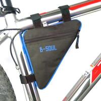 Waterproof Cycling Bike Front Tube Frame Bicycle Bag Pouch Holder Saddle Pannier