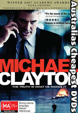 Michael Clayton DVD NEW, FREE POSTAGE WITHIN AUSTRALIA REGION 4