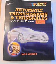 Automatic Transmissions & Transaxles Classroom Manual Today's Technician 2003 Pa