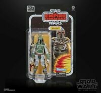 "Star Wars 40th Anniversary Black Series 6"" Boba Fett Empire PREORDER Oct/Nov2020"