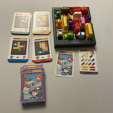 New listing Rush Hour Jr. Edition Traffic Jam Think Fun Strategy Challenge Complete w/Bag