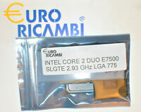 INTEL CORE 2 DUO E7500 SLGTE 2.93GHz 3MB LGA 775 Fattura & Ricevuta Garanzia