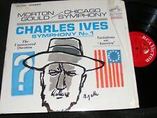 CHARLES IVES RCA In Shrinkwrap SYMPHONY no. 1 MORTON GOULD Variations AMERICA LP