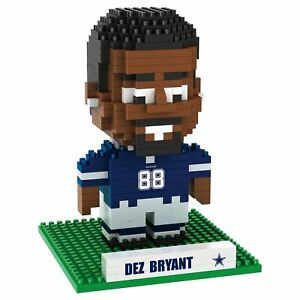 NFL Dallas Cowboys Dez Bryant #88 BRXLZ Team Logo Football Puzzle Set Toy