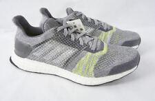 f76788a50 ADIDAS Ultraboost ST Stability Running Sneaker Grey Lime Green Knit Shoe Men  8.5