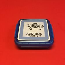 SPIDER - Addition Facts 0-9 Matching Game 48 Cards with Storage box
