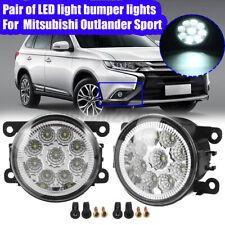 LED Front Fog Light Driving Lamp For Mitsubishi Outlander Sport RVR ASX Eclipse