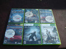 Xbox & Xbox 360 Game Lot Halo 4 Assassin's Creed Iii and Others