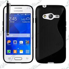 Funda Carcasa NEGRO TPU silicona Gel S-Line Samsung Galaxy Trend 2 Lite SM-G318H