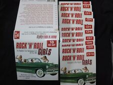 COFFRET 10 CD ROCK ' N'ROLL GIRLS / THE ROCKIN ' AND SWINGING GIRLS OF THE 50'S
