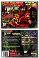 Donkey Kong Country - Super Nintendo SNES Horizontal Case *NO GAME*