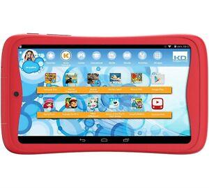 "Kurio Tab Junior 7 "" Kinder Tablet PC 1GB RAM Android 6 M Mallow Rot 8GB+64GB"