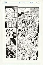 DV8 #20, page 2, Original Comic Art, Al Rio pencils, Trevor Scott inks Wildstorm
