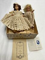 Nancy Ann Storybook Vintage Dolls Lot of 2