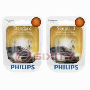 2 pc Philips Front Side Marker Light Bulbs for Kia Amanti Forte Forte Koup pb