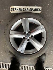 2012 VW PASSAT B7 2.0 TDI BLUEMOTION 17 INCH FONTANA ALLOY WHEEL & TYRE BREAKING
