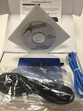 NEW Aboundi APL1400-200 200Mbps UltraSpeed PowerLine Quad Ethernet NetBridge