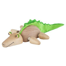 NEW AnamalZ Crocodile Poseable Wood Wooden Figure 10cm - Preschool Steiner